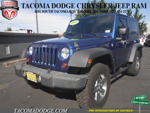 Used Jeep Wrangler Rubicon