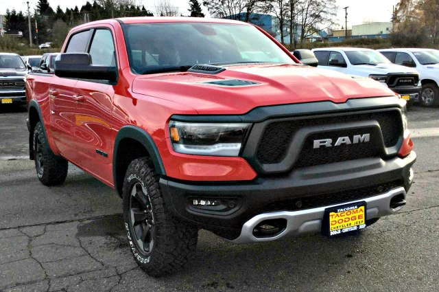 New 2019 Ram All New 1500 Sport Rebel Crew Cab In Tacoma R190200