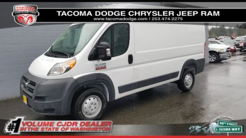 "New 2018 RAM ProMaster Cargo Van High Roof 136"" WB"
