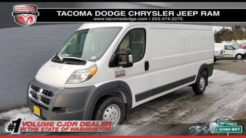 "New 2018 RAM ProMaster Cargo Van High Roof 159"" WB"