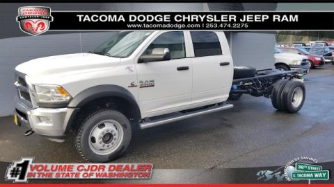 New 2018 RAM 4500 Chassis Cab Tradesman 84 CA