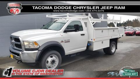 New 2017 RAM 5500 Chassis Cab Tradesman 84 CA