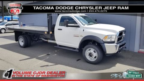 New 2018 RAM 5500 Chassis Cab Tradesman 108 CA