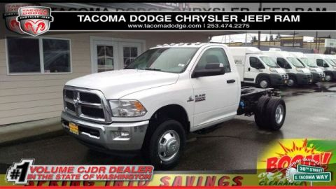New 2017 RAM 3500 Chassis Cab Tradesman 60 CA