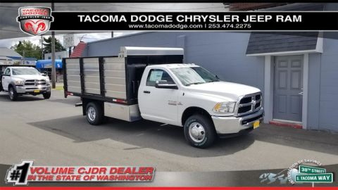 New 2018 RAM 3500 Chassis Cab Tradesman 84 CA