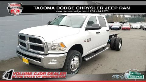 New 2018 RAM 3500 Chassis Cab Tradesman 60 CA